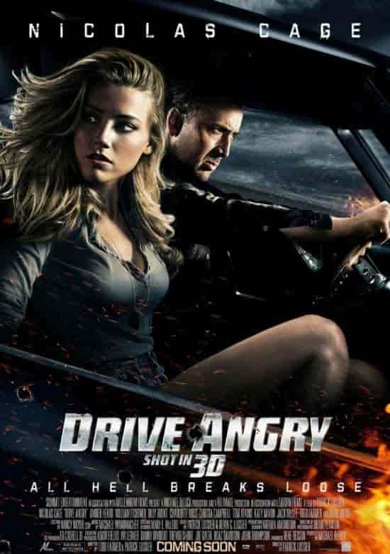 cover movie Drive Angry